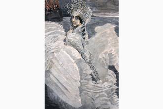 «Царевна Лебедь» (1900 год. Холст, масло, 142,5 × 93,5)