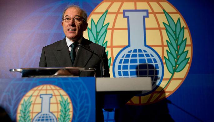 Глава Организации по запрещению химического оружия (ОЗХО) Ахмет Узюмджю, 2013 год