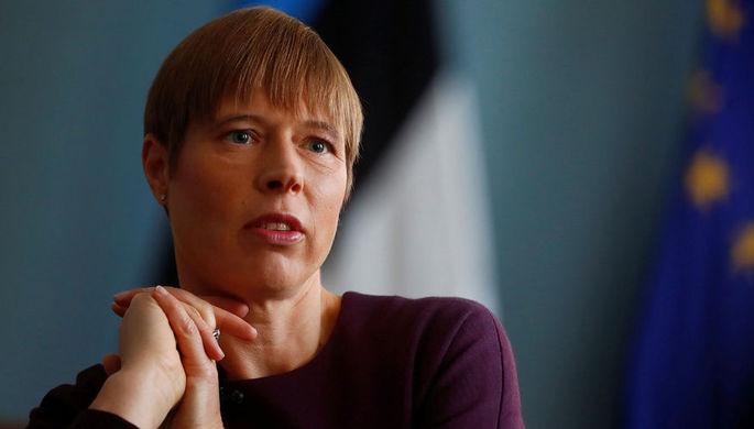 «Недостойно»: в Эстонии осудили визит президента в Россию