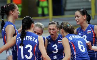 Сборная России вышла в полуфинал предквалификационного турнира к Олимпиаде