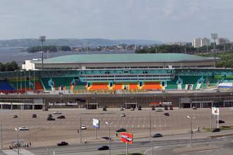 Стадион «Центральный» в Казани примет матч 33 тура ЧР