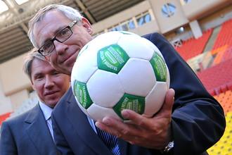 Руководитель департамента ФИФА по организации чемпионатов мира по футболу 2014, 2018 и 2022 годов Юрген Мюллер