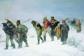 Картина И.М.Прянишникова «В 1812 году»
