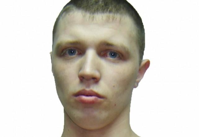 Константин Павловец, осужденный по статье 161 часть 2, 162 часть 3 (грабеж, разбой) УК РФ, сбежавший из исправительной колонии №19 под Иркутском.