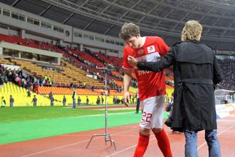 По мнению Артема Дзюбы, Валерий Карпин не хочет видеть его в «Спартаке»