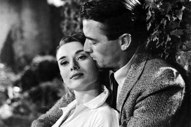 Кадр из фильма «Римские каникулы» (Roman Holiday), 1953 год