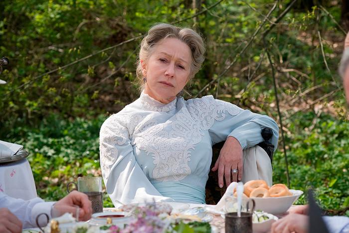 Хелен Миррен в роли Софьи Андреевны Толстой в картине «Последнее воскресение» (2009)
