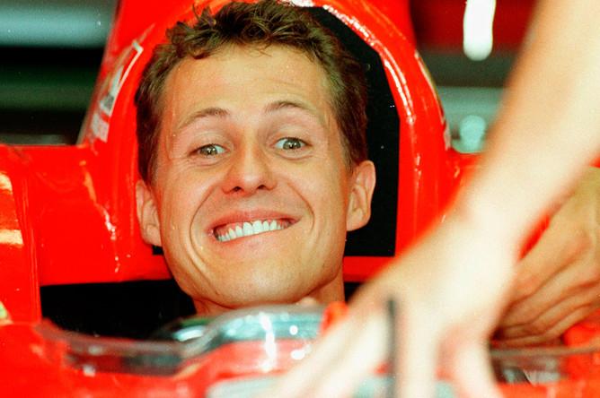 Михаэль в начале карьеры в «Формуле-1»