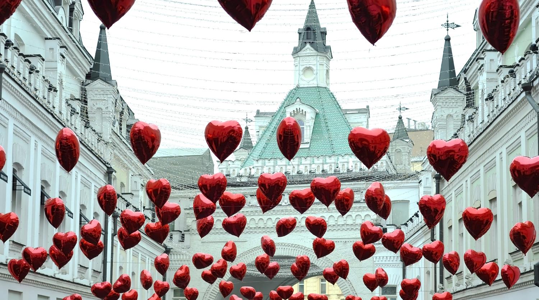 Вечер поцелуев в День святого Валентина