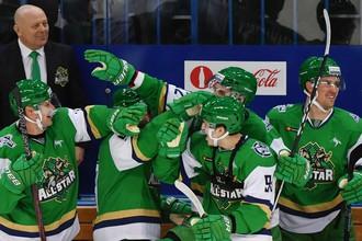Команда дивизиона Чернышева обыграла представителей дивизиона Тарасова в Матче звезд КХЛ