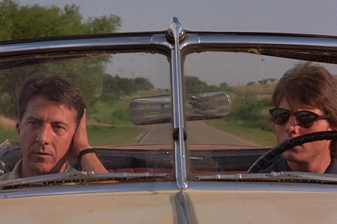 Дастин Хоффман в фильме «Человек дождя» (1988)