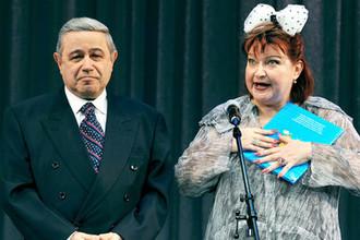 Евгений Петросян и Елена Степаненко, 2009 год