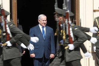 Хлеб да соль: визит Нетаньяху в Киев начался со скандала. ОНЛАЙН