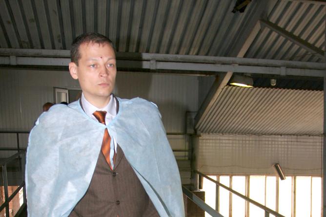 Совладелец ОАО «Эдельвейс Групп», гендиректор холдинга «Красный восток», депутат Госдумы РФ Айрат Хайруллин в Казани, 2007 год