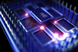 Компьютер на квантовом процессоре. 3D-симуляция