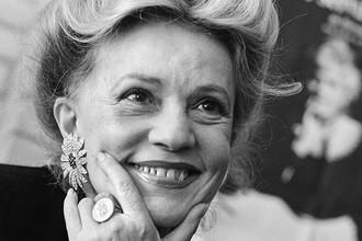 Жанна Моро в Москве, 1988 год