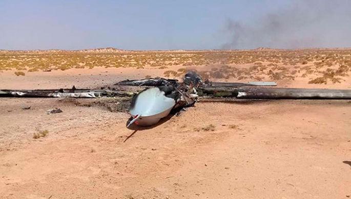 «Верните обломки»: россиян обвинили в уничтожении дрона США
