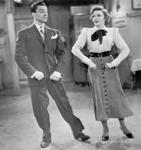 Джин Келли и Джуди Гарленд в фильме «Для меня и моей девочки» (1942)