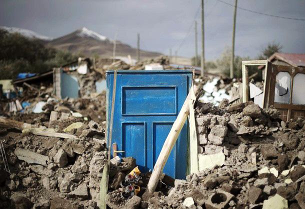 В турецкой провинции Ван снова произошло землетрясение