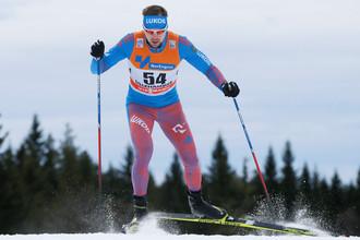 Российский лыжник Сергей Устюгов.