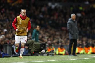 Нападающий «Манчестер Юнайтед» Уэйн Руни в матче с «Андерлехтом» остался на скамейке запасных даже после травмы Златана Ибрагимовича