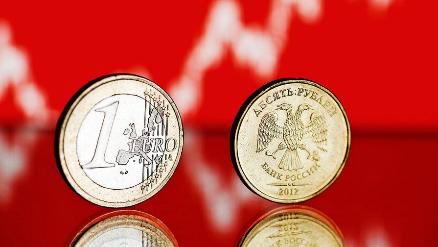 Евро впервые с 1 апреля опустился ниже 89 рублей