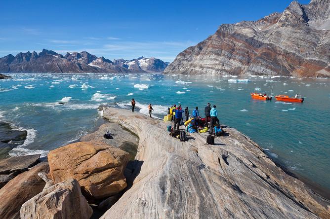 Северо-запад от Гренландии