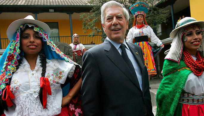 Марио Варгас Льоса, 2007 год