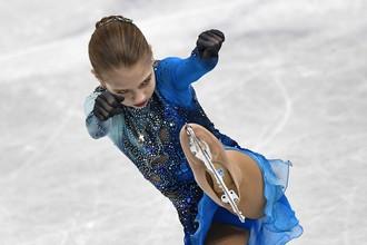Александра Трусова покорила всех своим мастерством