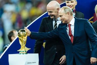Финал сюрпризов: Россия проводила мундиаль
