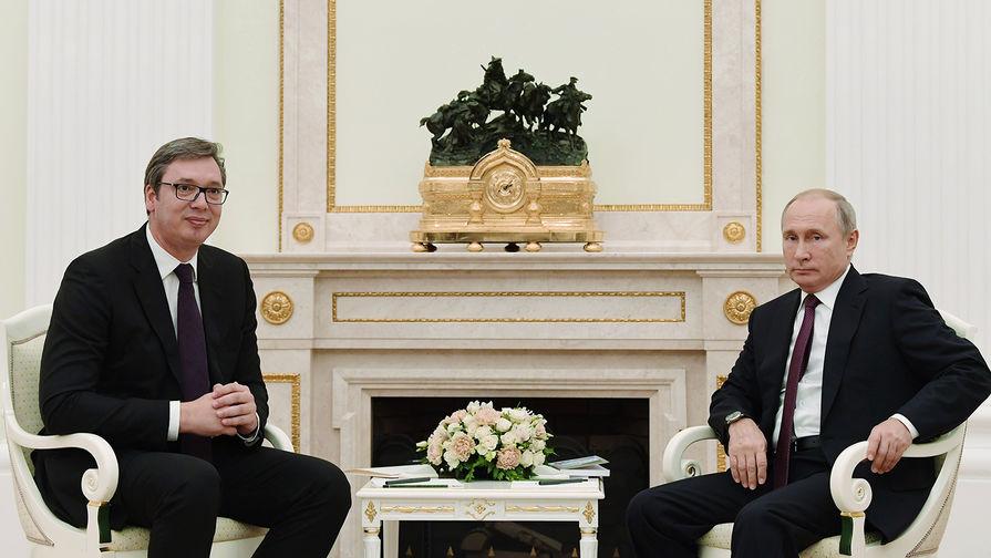 Сербия не намерена отказываться от российского газа