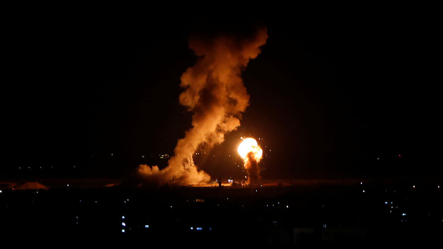 Израиль нанес ракетный удар по сектору Газа