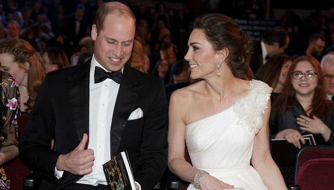 Принц Уильям и Кейт Миддлтон на премии BAFTA-2019