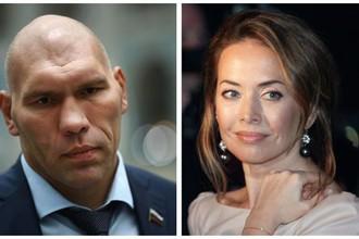 Николай Валуев и Жанна Фриске