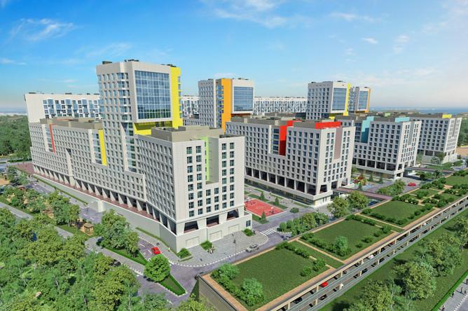 Проект комплексного освоения территории – жилой комплекс «Акварели»