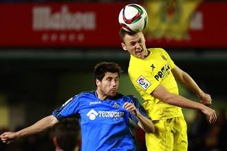 Денис Черышев (справа) в матче Кубка Испании