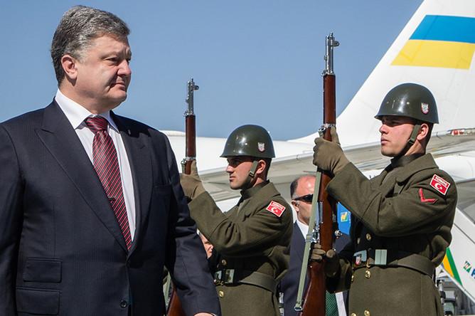 Визит президента Украины Порошенко в Турцию