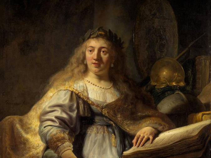 «Минерва», Рембрандт Харменс ван Рейн, 1635 год