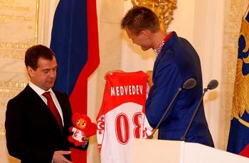 Кириленко на приеме у президента России