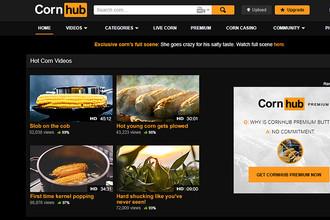 Первоапрельское оформление ресурса в кукурузной тематике