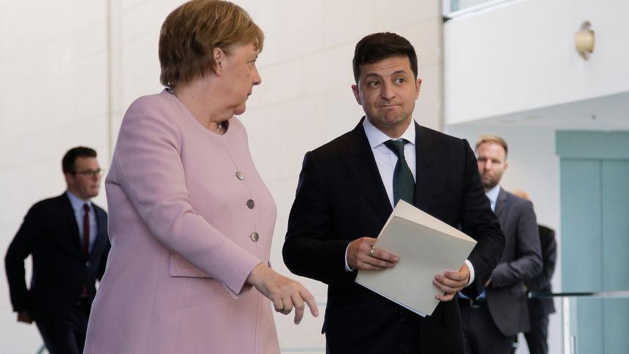Посол Украины в Германии оправдался за слова Зеленского о Меркель