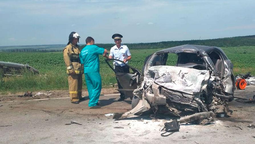 Шесть жертв: жуткое ДТП в Липецкой области