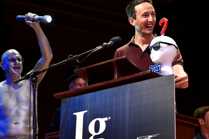 На 27-й церемонии вручения Шнобелевской премии, 15 сентября 2017 года