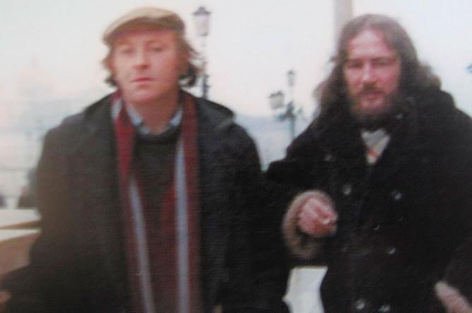 Иосиф Бродский и Алексей Хвостенко в Венеции