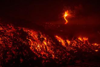 Извержение вулкана Этна на Сицилии, 28 февраля 2017 года