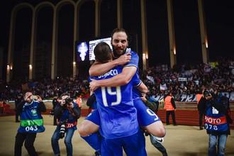 Гонсало Игуаин стал одним из героев первого матча полуфинала «Монако» — «Ювентус», оформив дубль