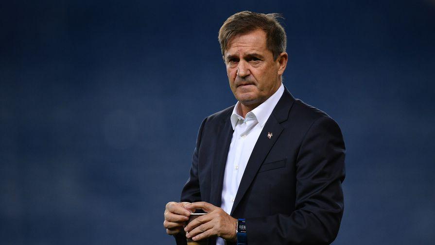 Исполняющий обязанности главного тренера «Спартака» Рауль Рианчо