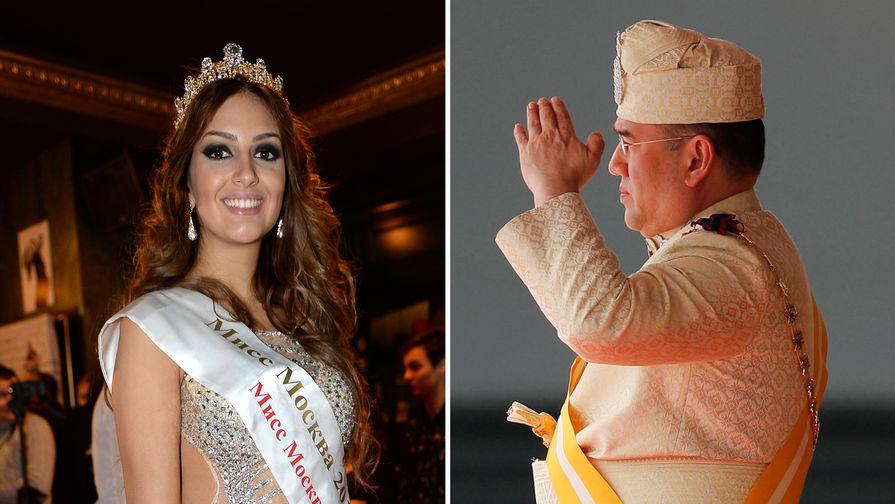 Русская жена экс-короля Малайзии впервые показала сына