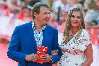 Актер Марат Башаров и Елизавета Шевыркова,