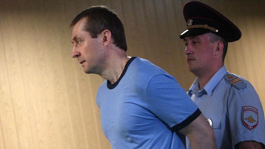 Полковник Дмитрий Захарченко в Пресненском суде Москвы, июнь 2019 года
